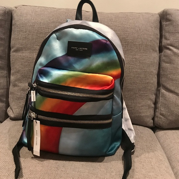57b56e7b71 Marc Jacobs Rainbow Biker Backpack. M 5a56ef2285e605db7900581b